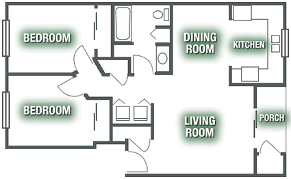 Apartments - Apartment Plan D