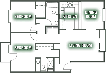Apartments - Apartment Plan F